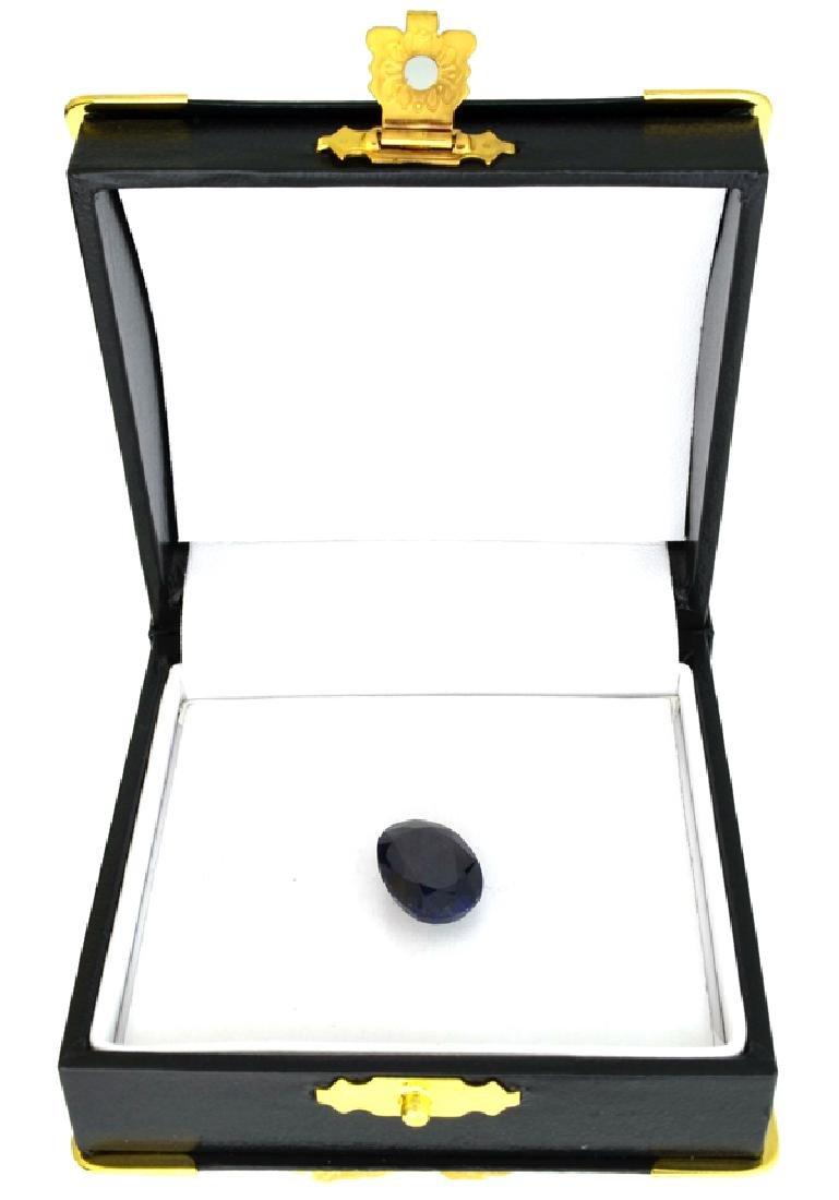 APP: 2.7k 9.03CT Blue Sapphire Gemstone