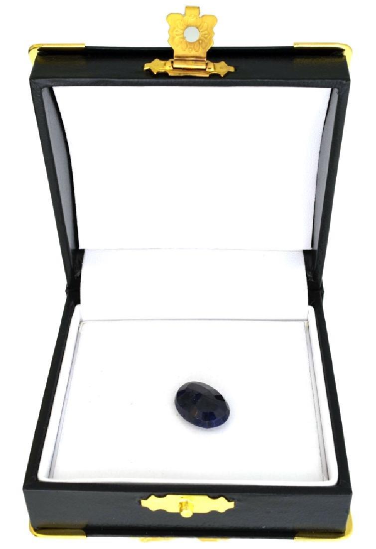 APP: 2.7k 9.03CT Blue Sapphire Gemstone - 2
