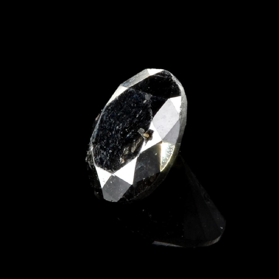 1.40CT Rare Black Diamond Gemstone