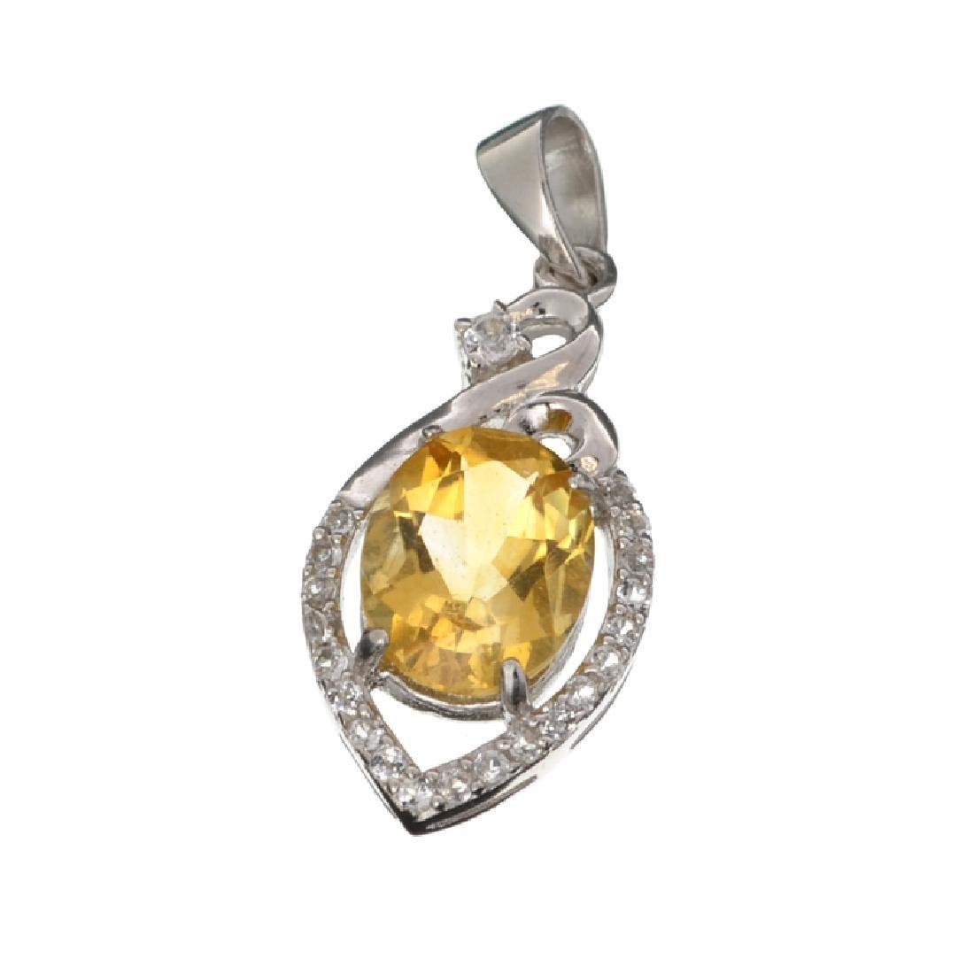 APP: 0.6k Fine Jewelry 2.85CT Citrine And White