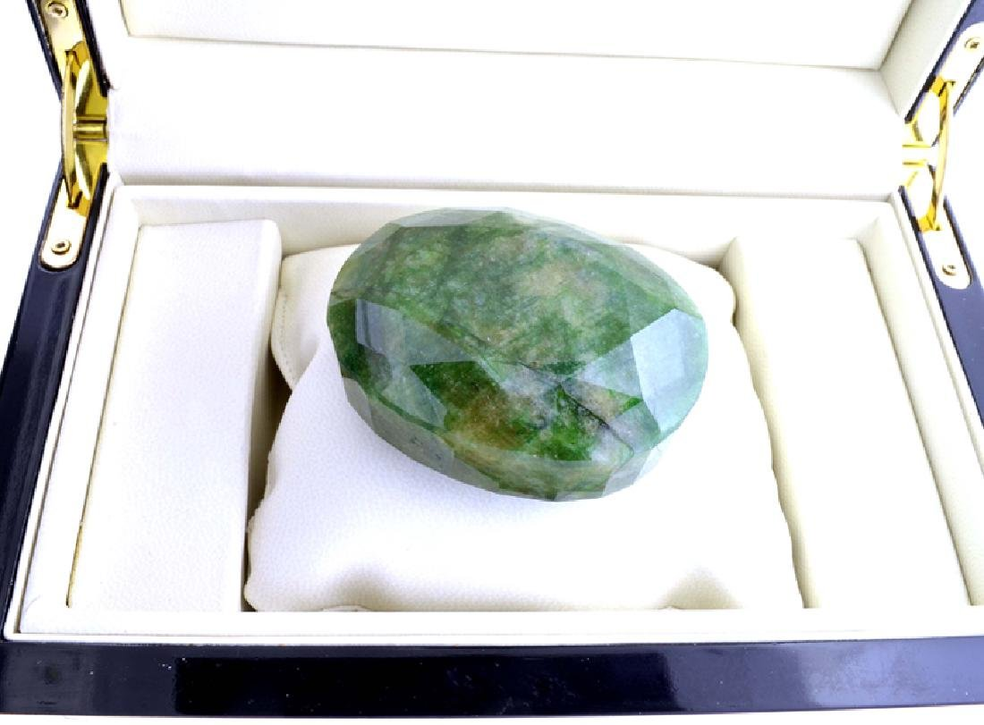 APP: 6.2k 1031.20CT Oval Cut Green Beryl Emerald