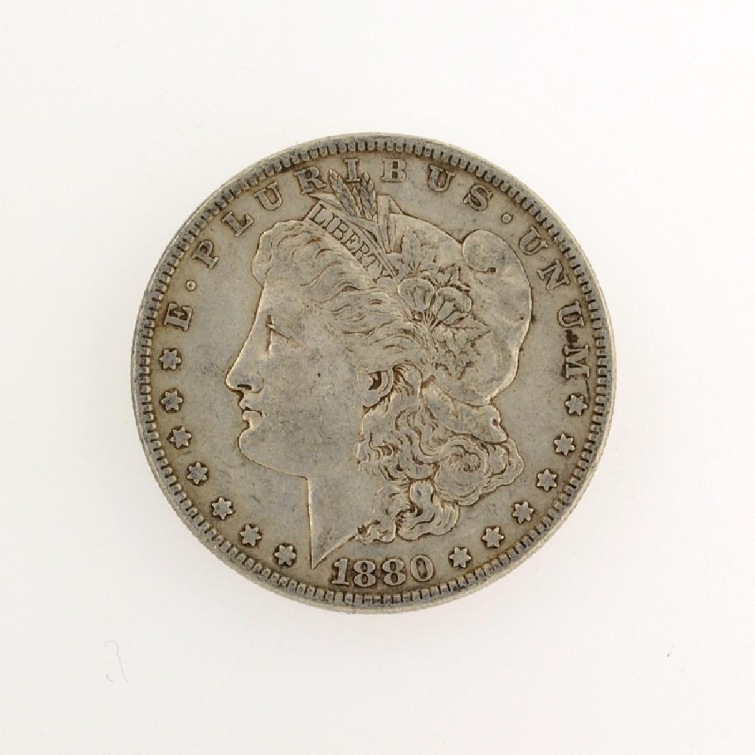 1880 Morgan Silver Dollar Coin