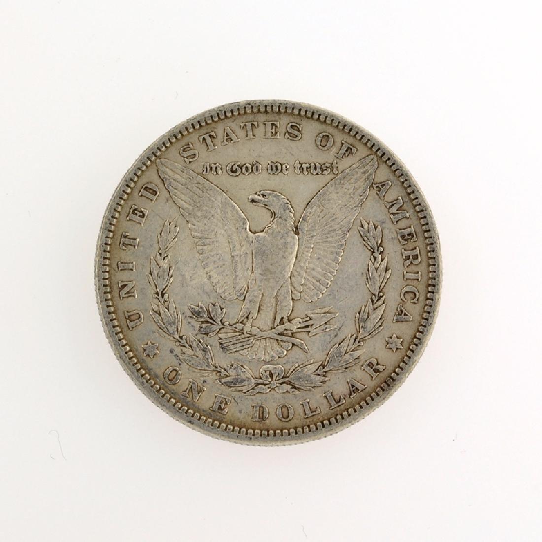 1880 Morgan Silver Dollar Coin - 2