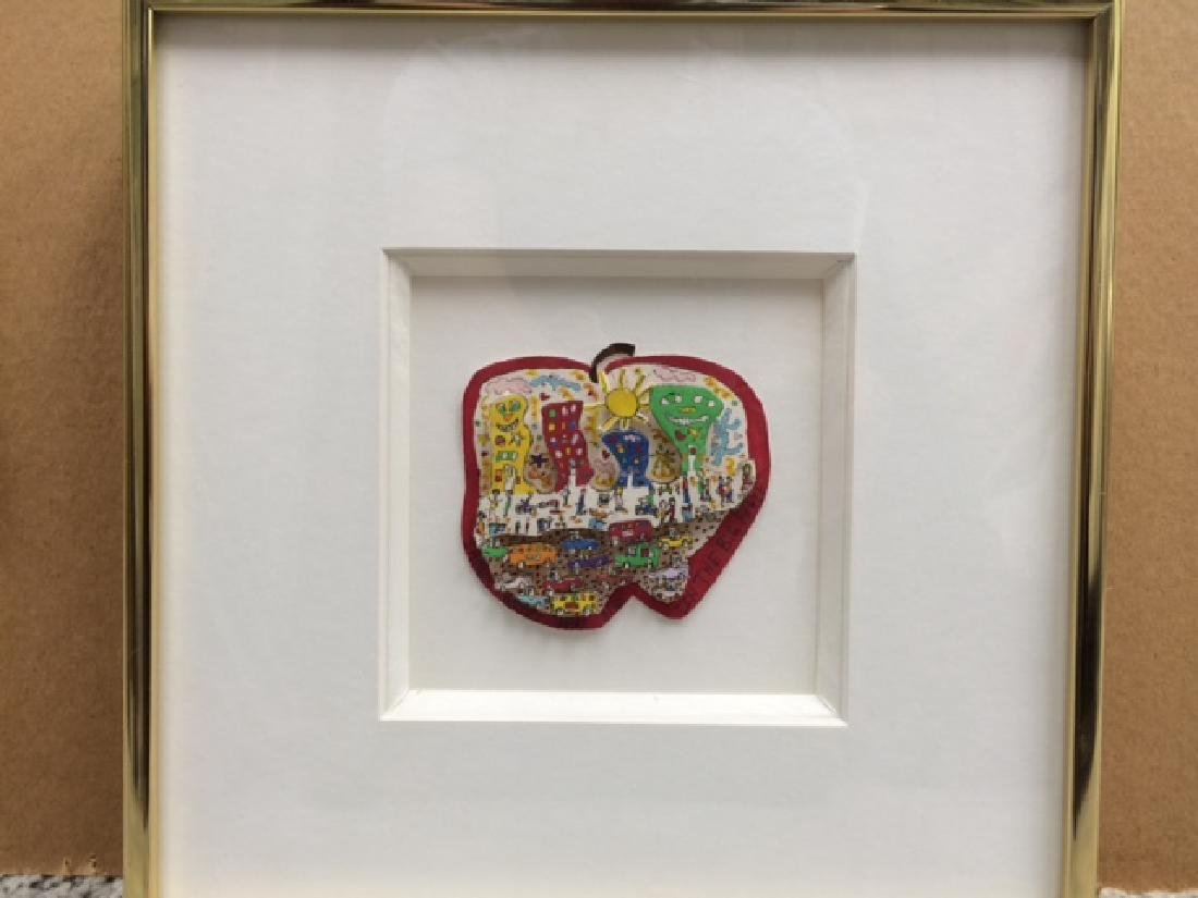 Very Rare 1981 James Rizzi 3-D Art ''''IN THE BIG