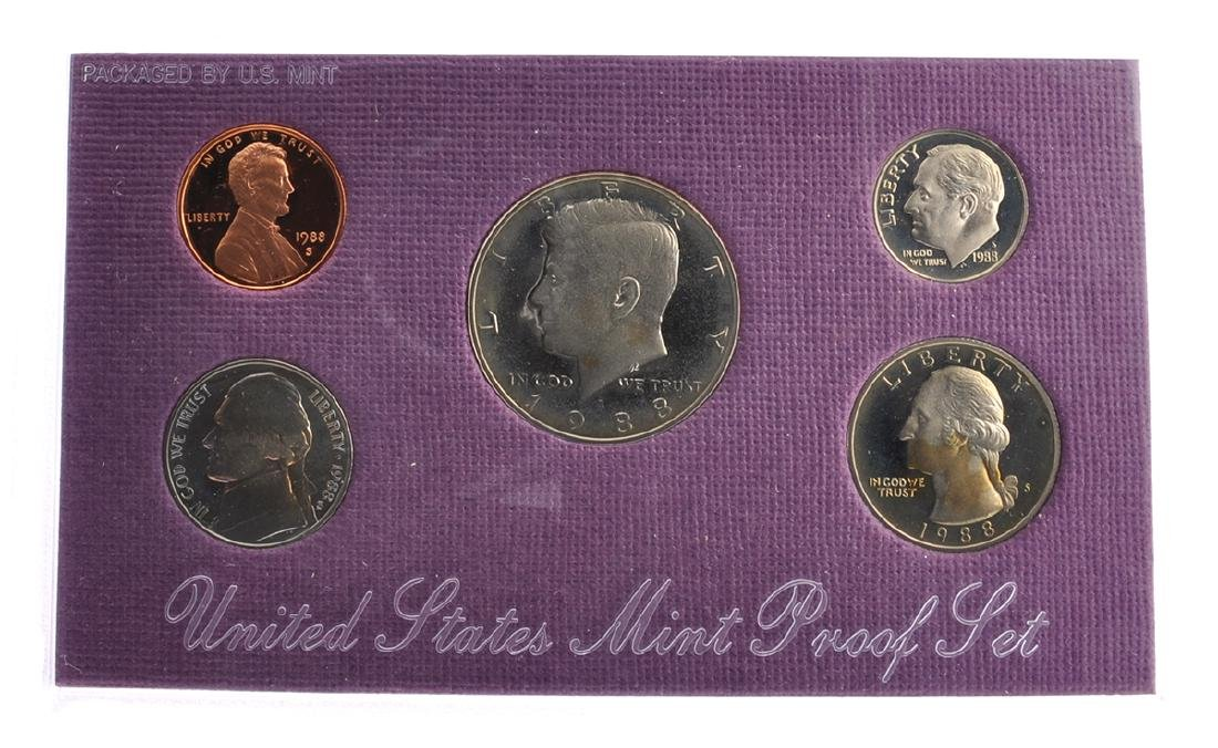 1990 United States Mint Proof Coin Set Coin