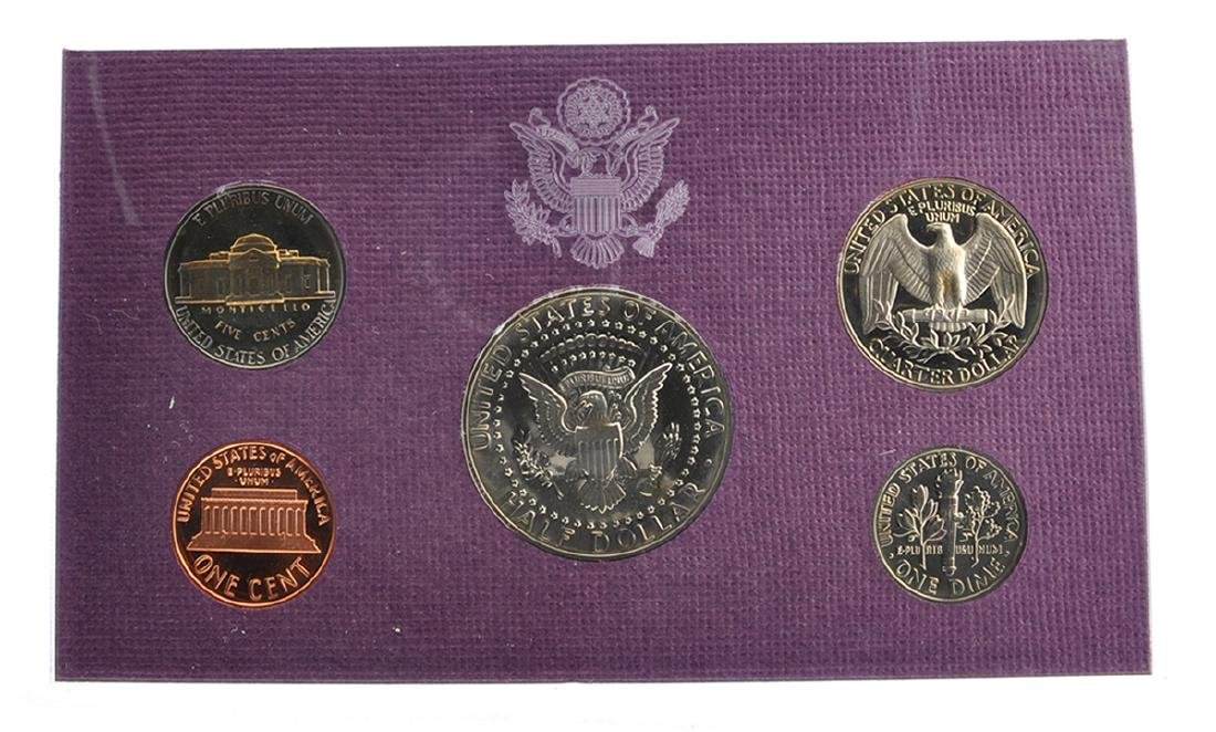 1990 United States Mint Proof Coin Set Coin - 2