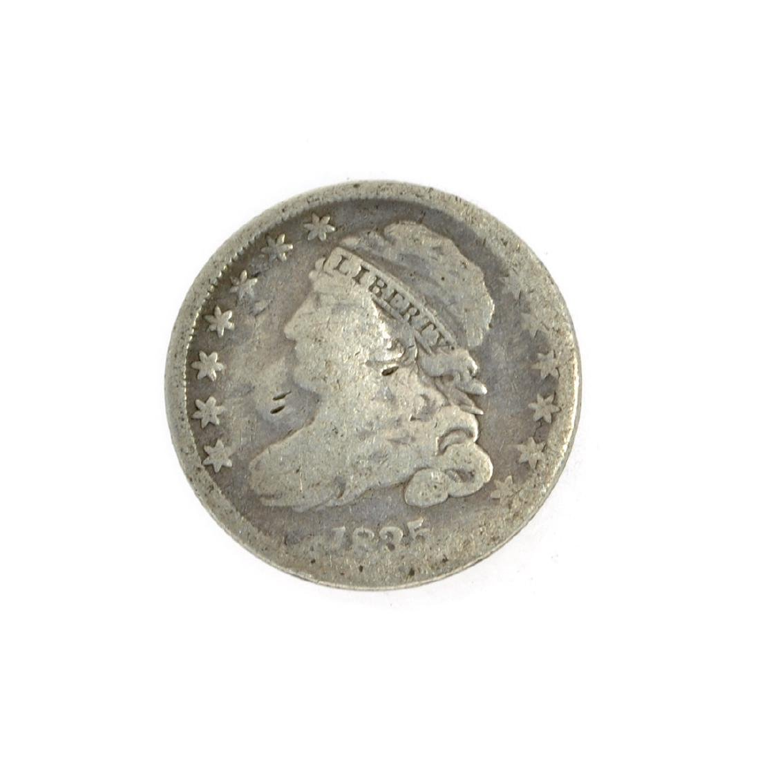 Rare 1835 Capped Bust Dime Coin