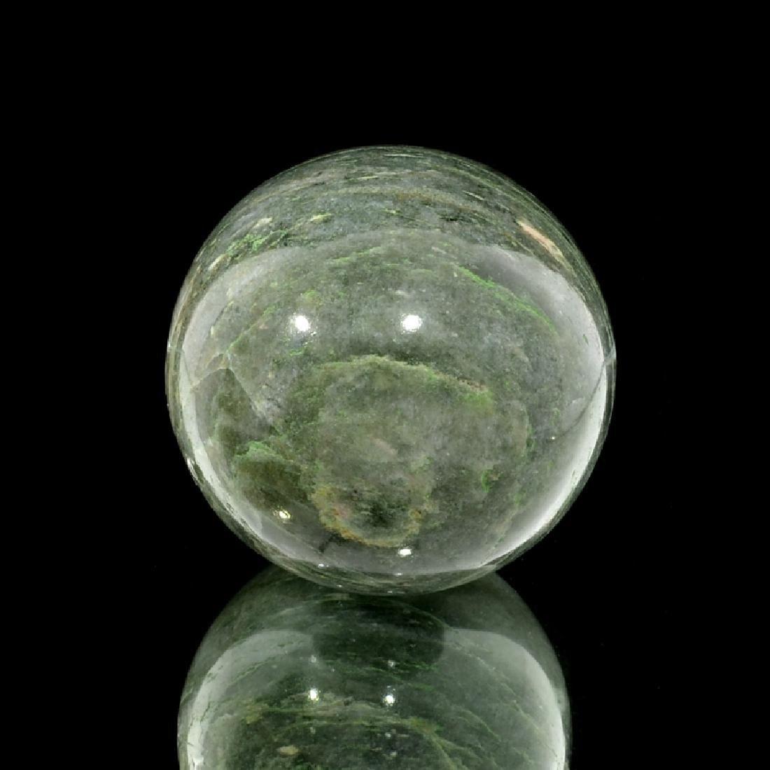 APP: 1.3k Rare 984.00CT Sphere Cut Gray Agate Gemstone