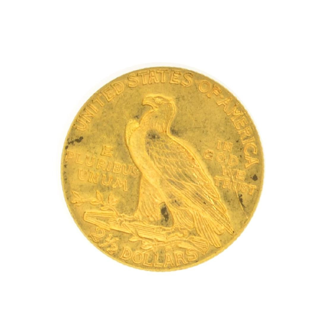 *1928 $2.50 U.S. Indian Head Gold Coin - Great - 2