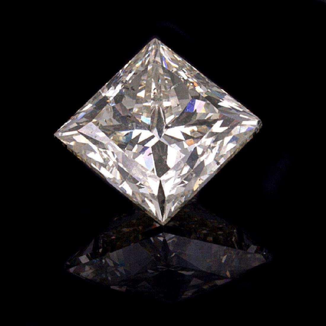 APP: 61.3k *5.00CT Princess Cut Diamond Gemstone (NG