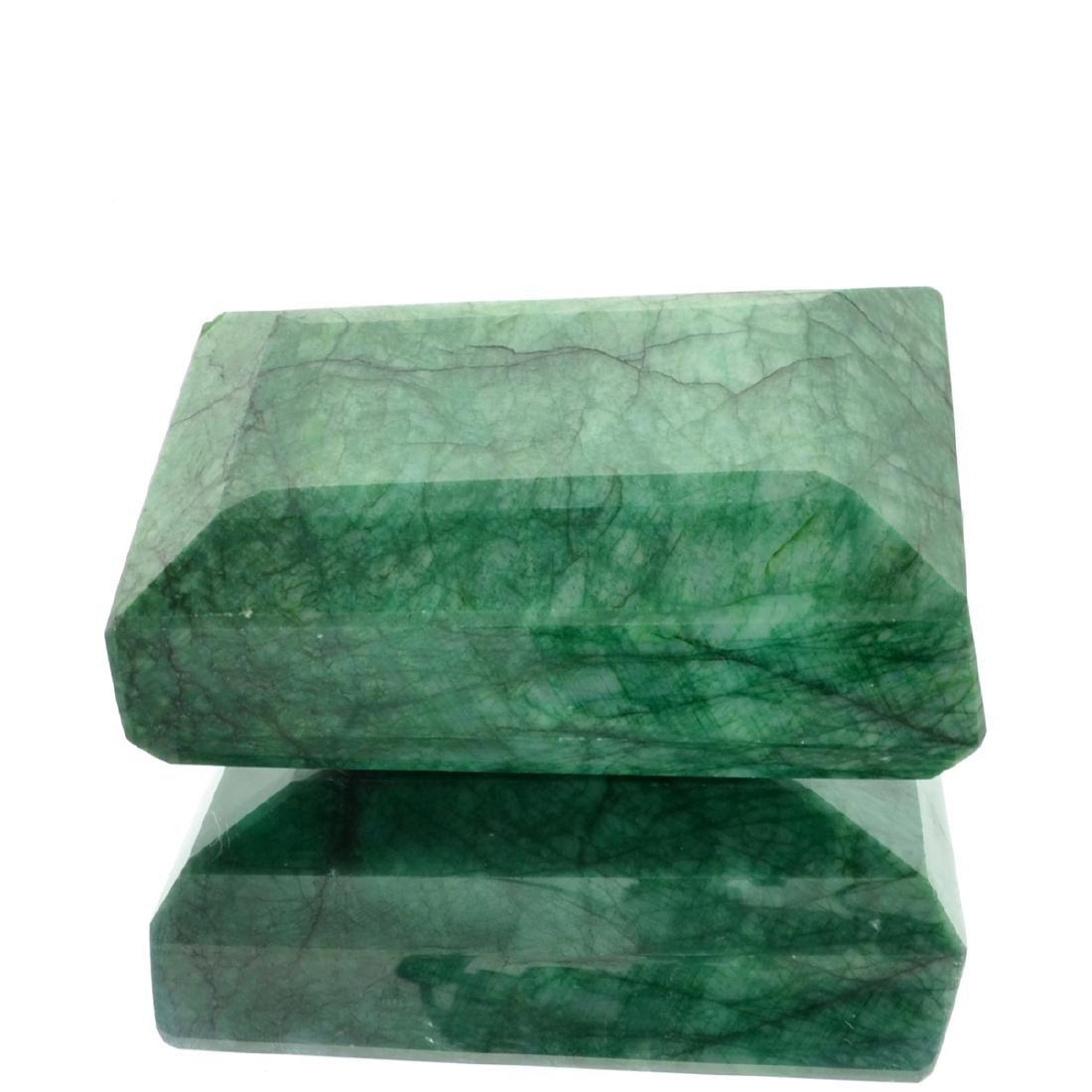 APP: 10.6k 2,764.50CT Rectangle Cut Green Beryl Emerald