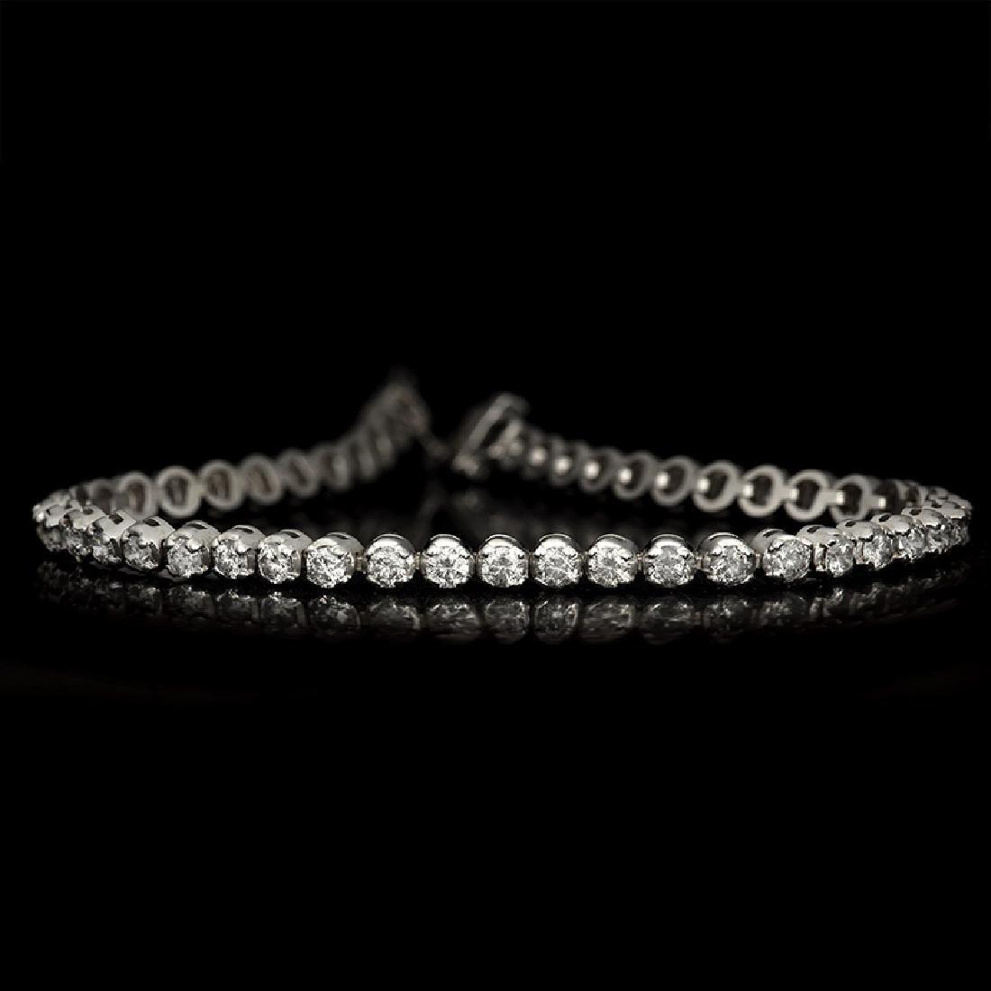 APP: 7k *Fine Jewelry 14KT White Gold, 3.00CT Round