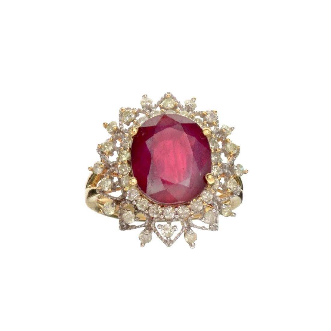 APP: 3.3k *Fine Jewelry, 14KT Gold, 6.63CT Oval Mixed