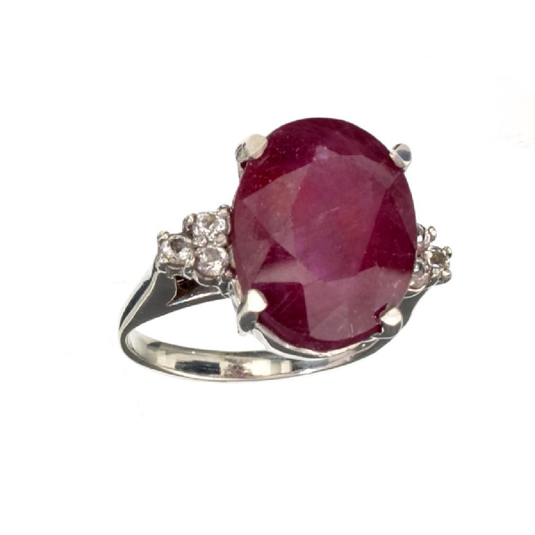 APP: 3.4k Fine Jewelry Designer Sebastian 10.11CT Ruby