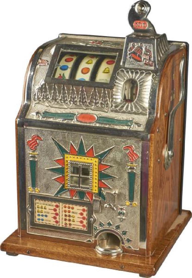 10 ¢ Mills Torch Front Slot Machine Restored Rare Size