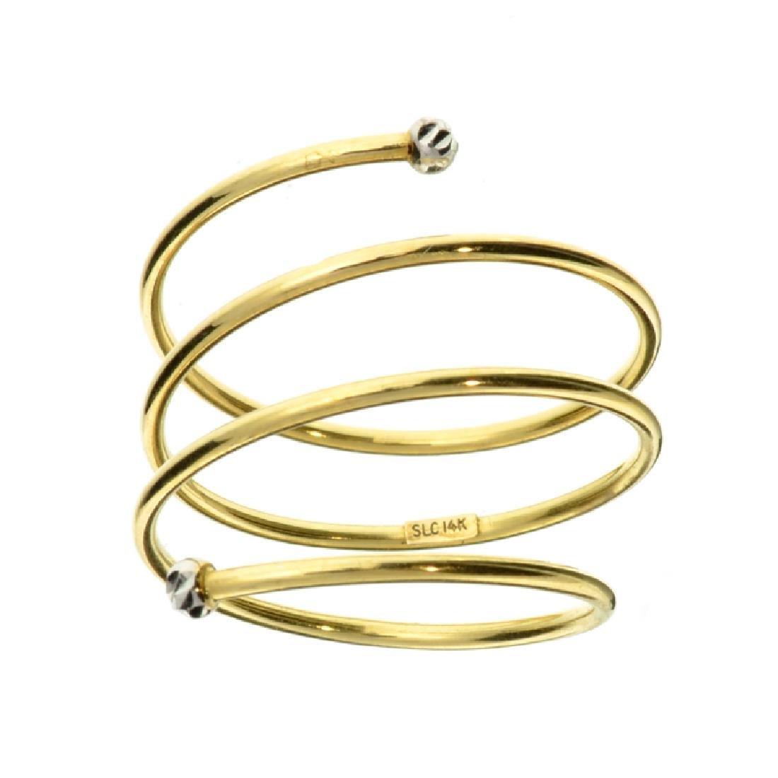 Fine Jewelry Custom Made 14 kt. Gold, Ladies Ring