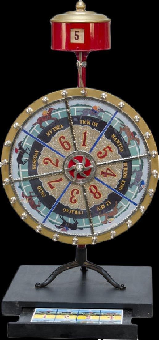 Counter top Horse Race Betting Wheel w/ odds changer