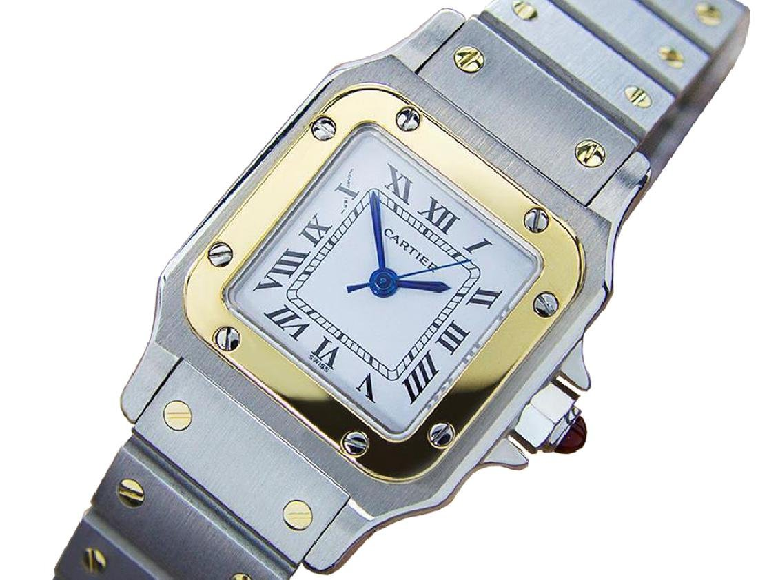 *Cartier Stainless Steel Auto Watch, 24 x 24 x 9: 6 in.