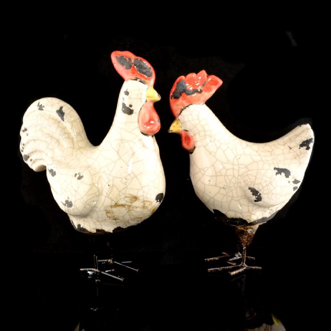 White Chicken Pair