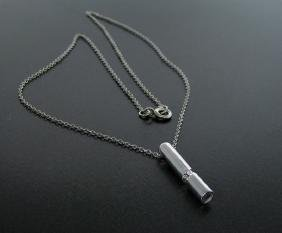 ''The New Genesis'' Diamond and Sterling Silver