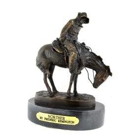 Norther- By Frederic Remington- Bronze Reissue