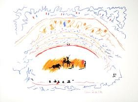 PABLO PICASSO (After) Corrida Print, 59 of 500