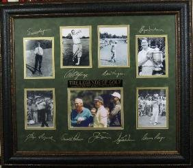 Legends of Golf - Plate Signatures