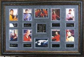 Star Trek - Plate Signatures!