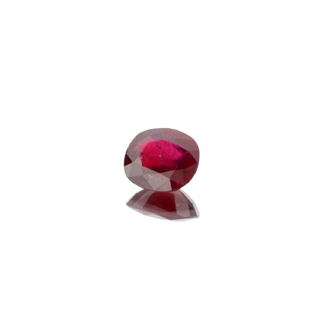 APP: 1.7k 6.87CT Rectangular Cut Ruby Gemstone