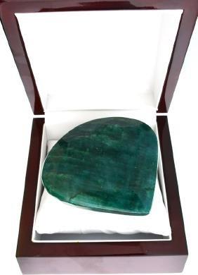 APP: 10k 1245.80CT Pear Cut Green Beryl Emerald