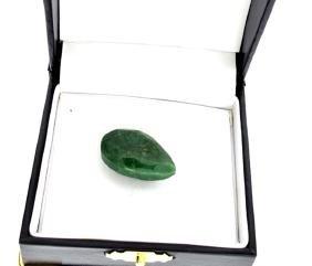APP: 1.7k 34.40CT Pear Cut Green Beryl Emerald Gemstone