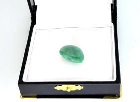 APP: 1.2k 11.53CT Pear Cut Emerald Gemstone