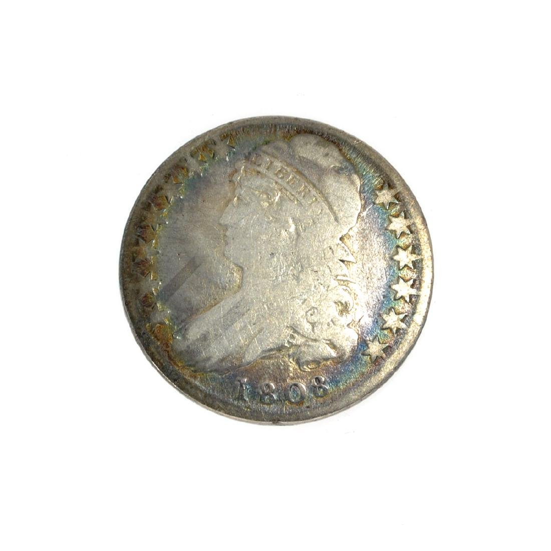 Rare 1808 Capped Bust Half Dollar Coin