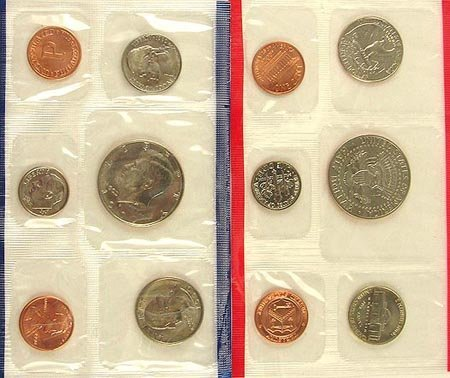 7: 1990 US Uncirculated Mint Set Coin, COLLECTORS' ITEM