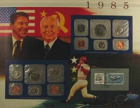 10: 1985 US Mint Set Coin, COLLECTORS' ITEM!!
