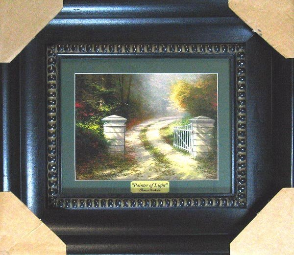 19: GOV: Thomas Kinkade - Medium, Museum Framed Calenda