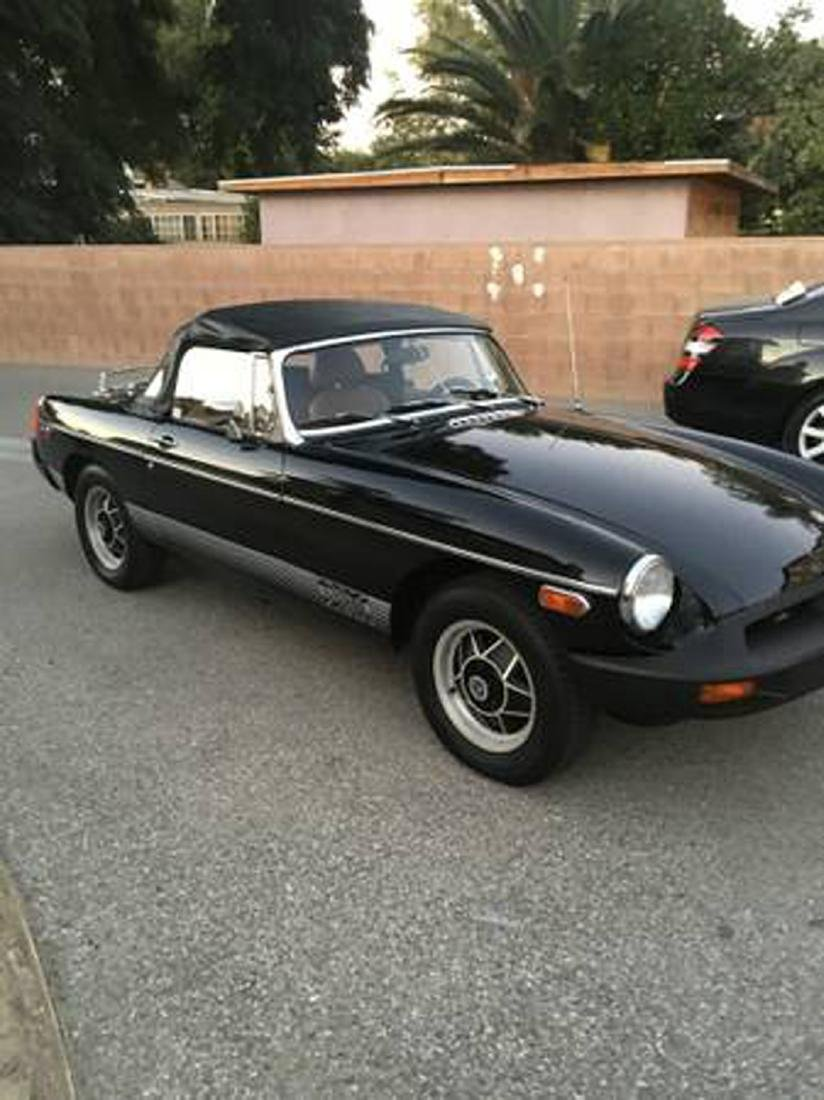 79 MGB Roadster Special Addition This Is A Restored Car
