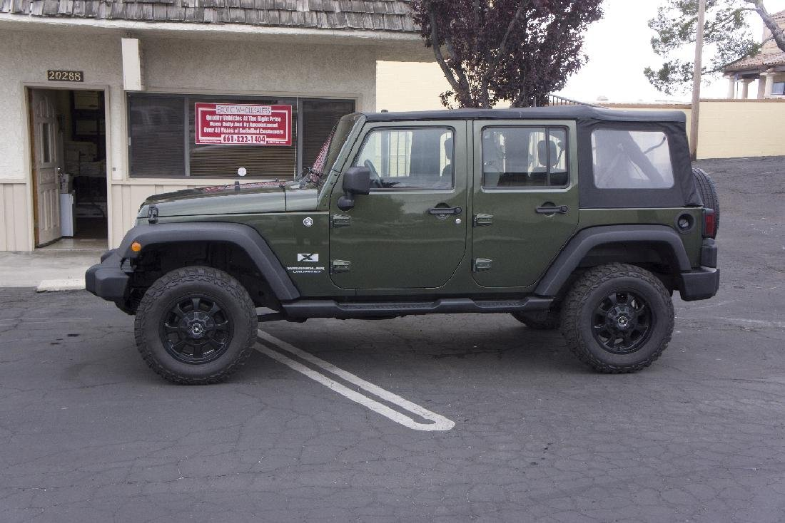 2007 Jeep Unlimited Wrangler Nice Summer Car NO BUYERS