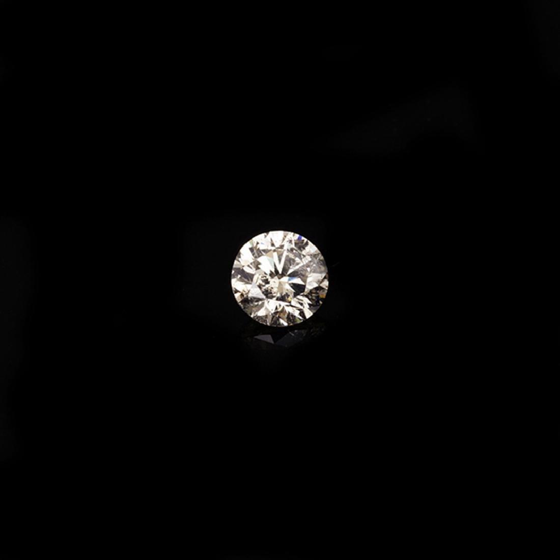 Fine Jewelry GIA Certified 0.26CT Brilliant Round Cut