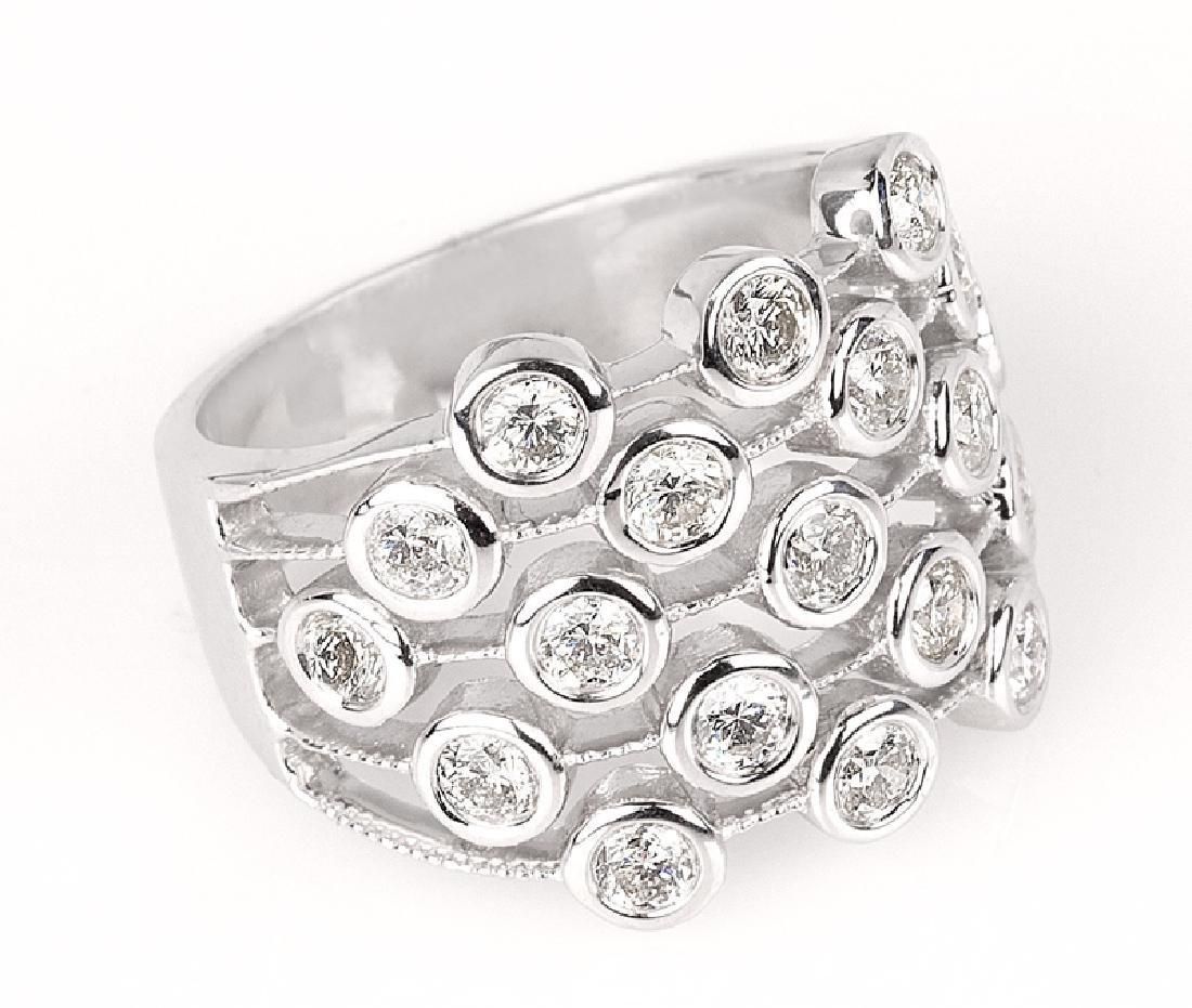 APP: 6k *Fine Jewelry 14kt White Gold Brilliant Cut