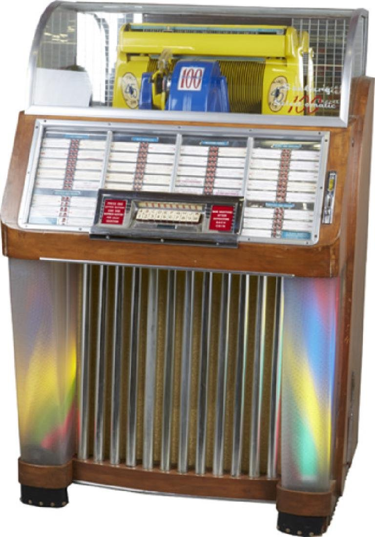 Great Condition Coin-Op Seeburg Select-O-Matic Jukebox