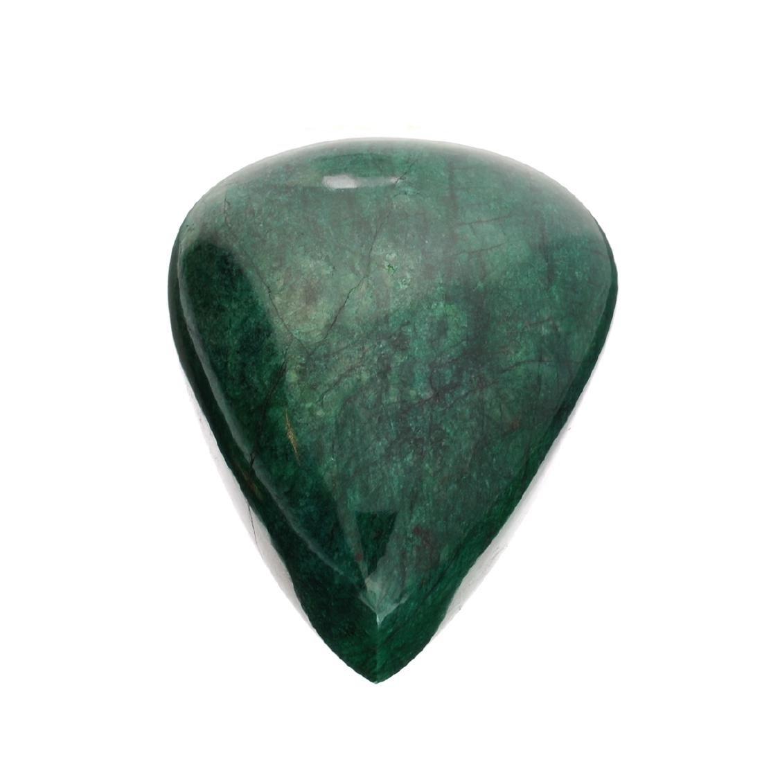 APP: 11.5k 1,913.00CT Pear Cut Cabochon Green Beryl