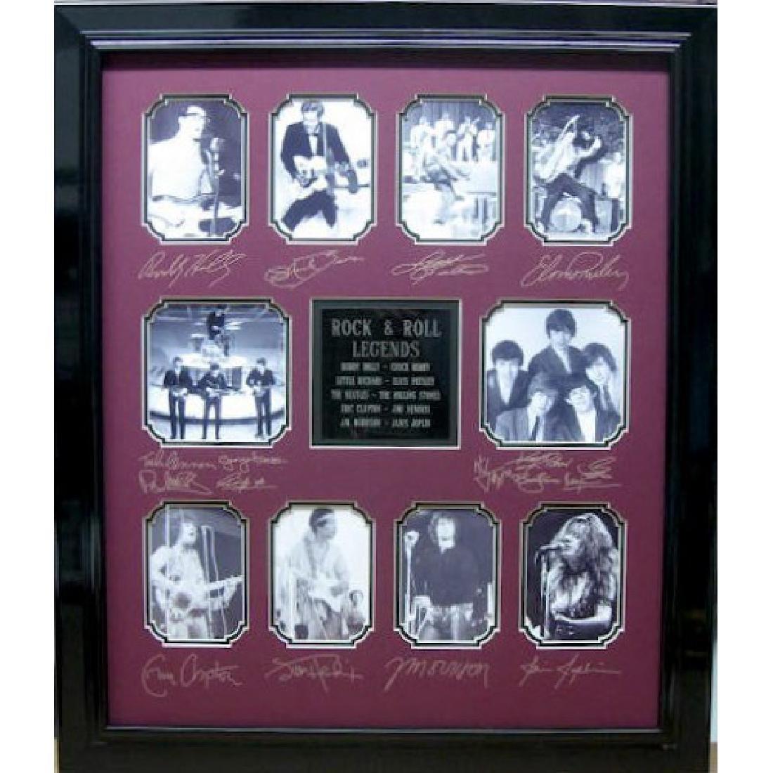 Rock & Roll Legends - Plate Signatures