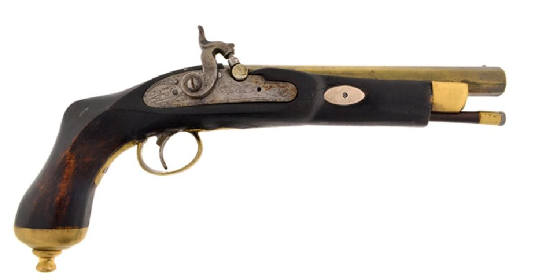 1830 Black Powder London Pistol (No Gun Sales To: NY,