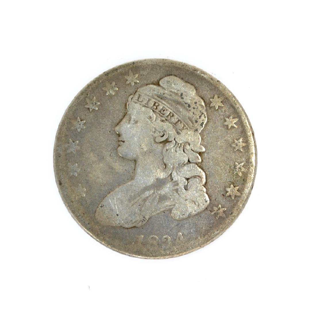 1834 Capped Bust Half Dollar Coin