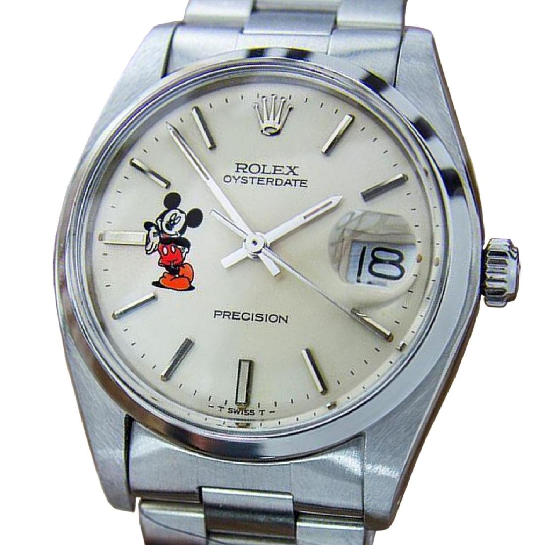 *Rolex Oysterdate Precision 6694 Mickey Swiss Made