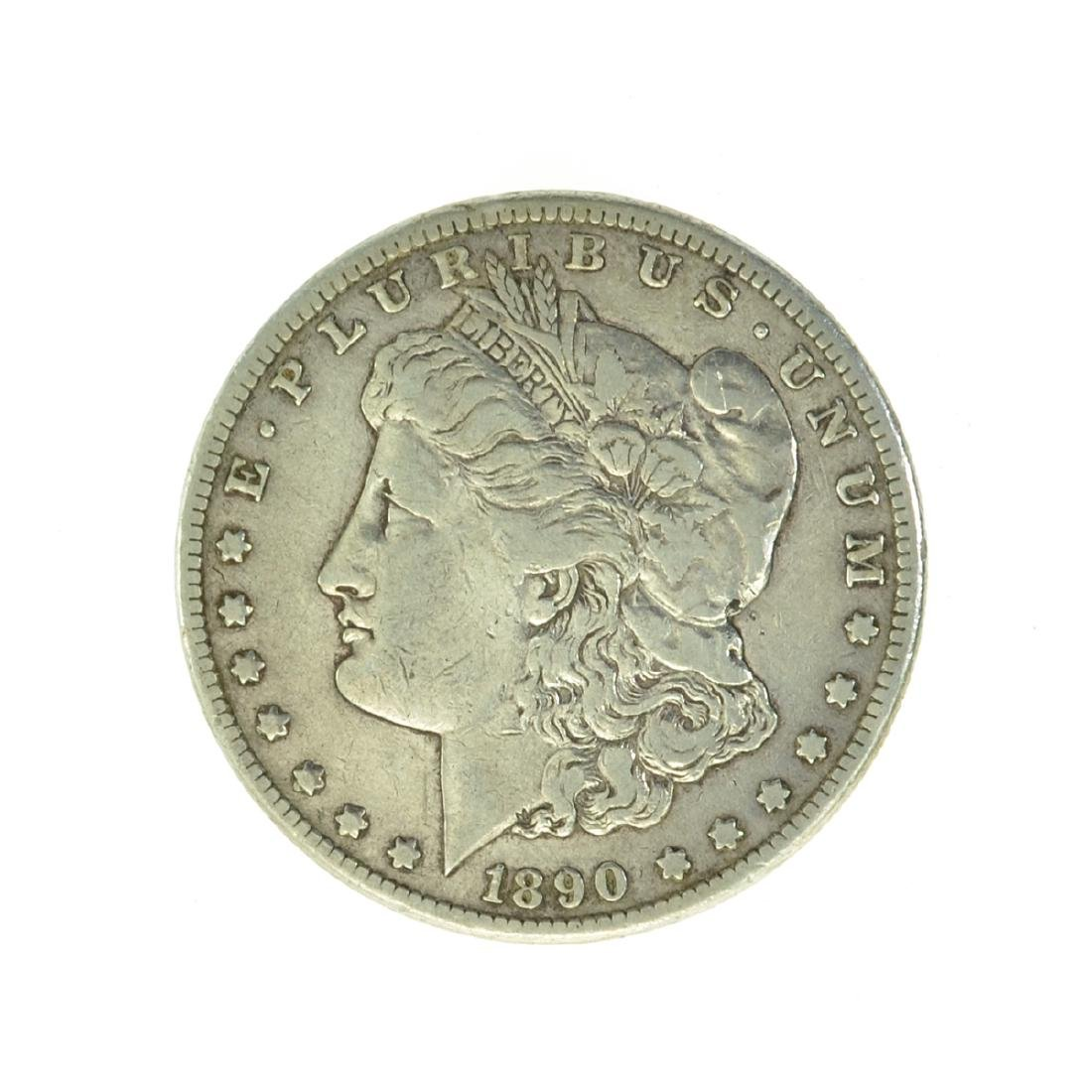 *1890-CC Silver Morgan Dollar Coin (JG)