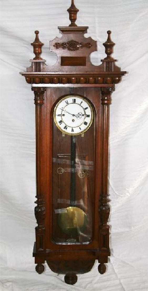 3 Weight German Clock-Mint-Original -P-