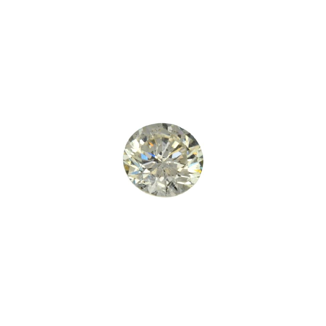 Fine Jewelry GIA Certified 0.61CT Brilliant Round Cut