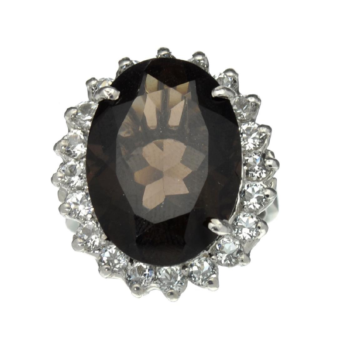 APP: 1k Fine Jewelry Designer Sebastian, 12.51CT Smoky